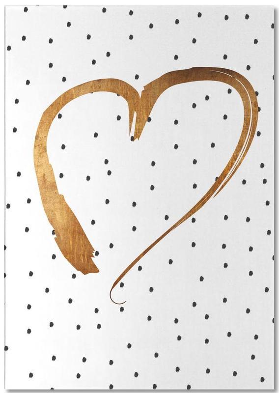 Heart 1 bloc-notes