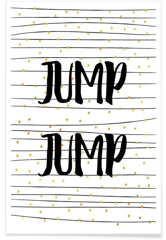 Congratulations, Weddings, Quotes & Slogans, Jump Poster