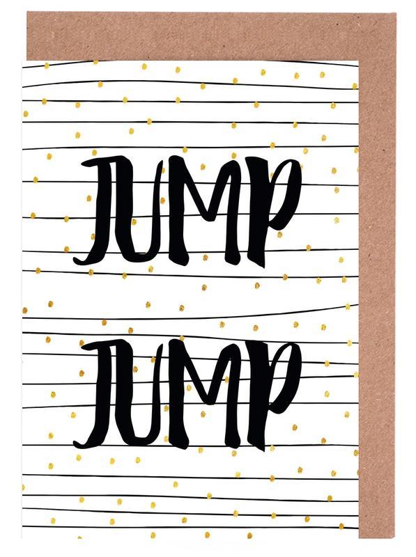 Jump Greeting Card Set