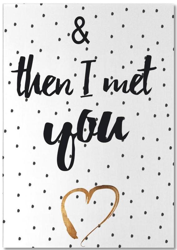 Met You Notepad