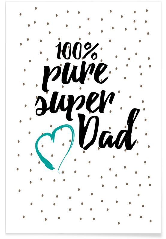 Fête des pères, Super Dad affiche