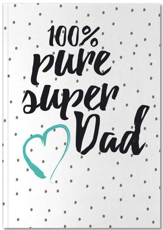 Father's Day, Super Dad Notebook
