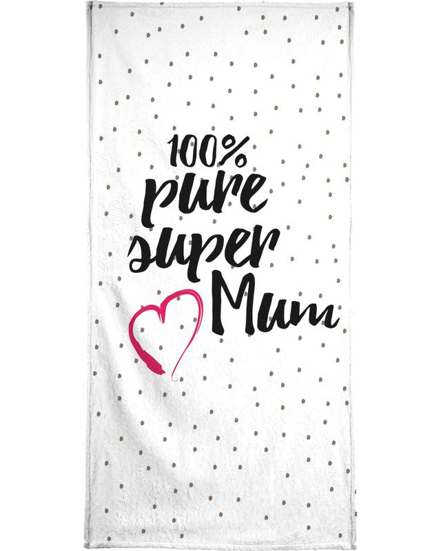 Super Mum -Handtuch