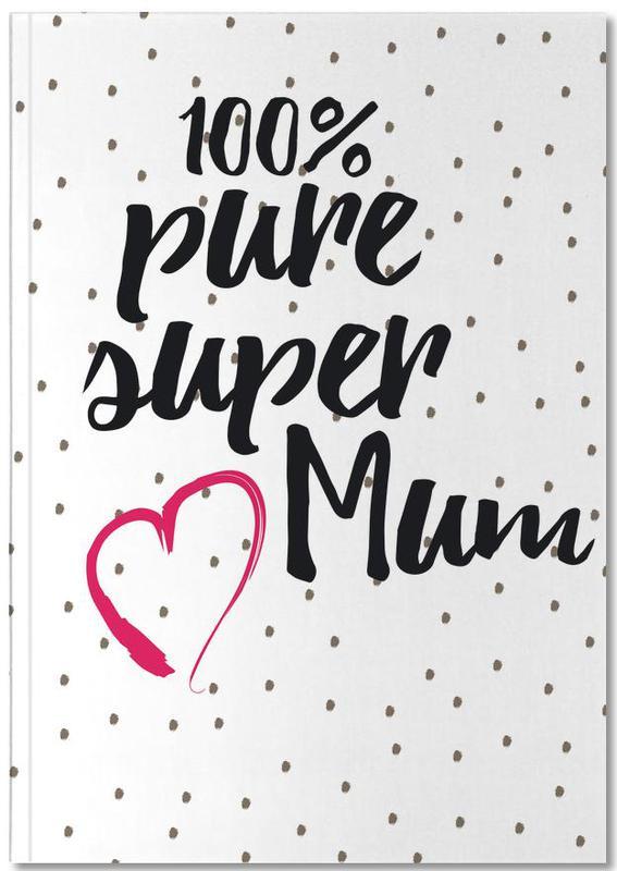 Fête des mères, Super Mum Notebook