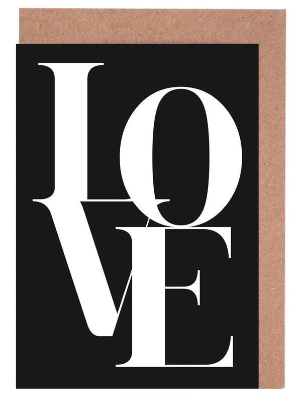 Love 1 Greeting Card Set