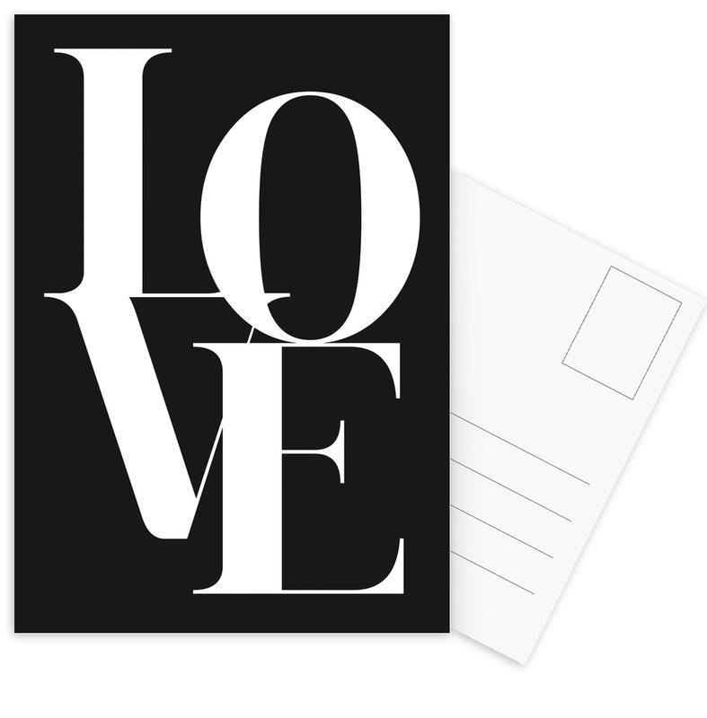 Love 1 Postcard Set