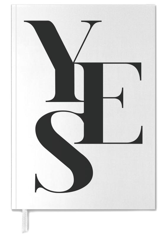 Quotes & Slogans, Weddings, Congratulations, Black & White, Yes 2 Personal Planner