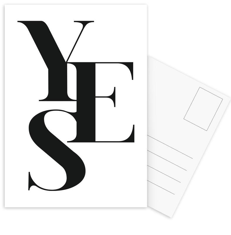 Yes 2 Postcard Set