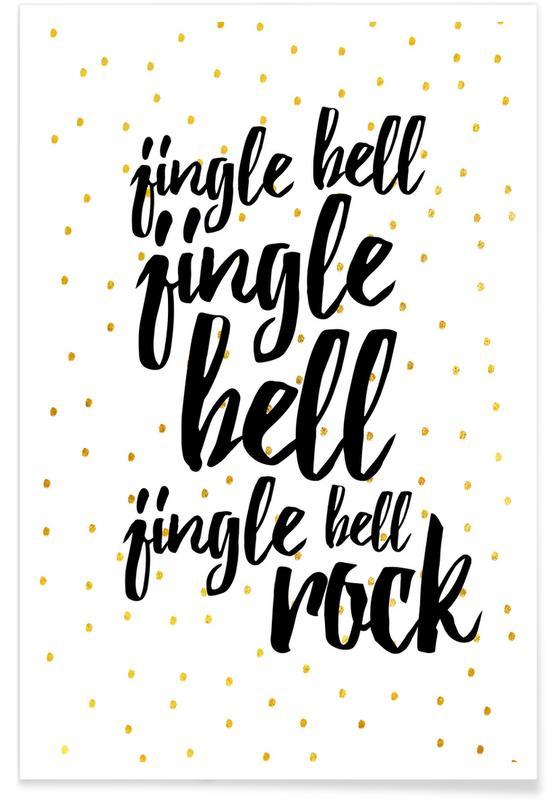 Christmas, Lyrics, Jingle Bells Poster