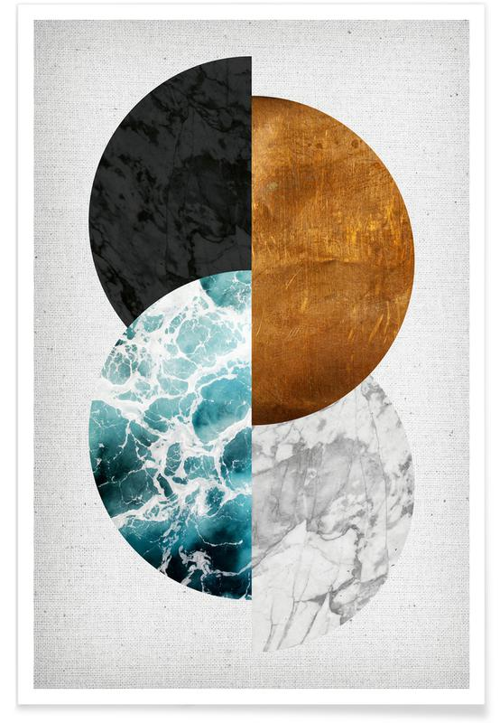 , Copper 02 -Poster
