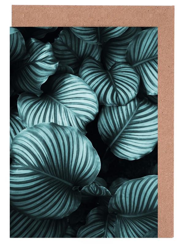 Blätter & Pflanzen, Leaf Me Alone 02 -Grußkarten-Set