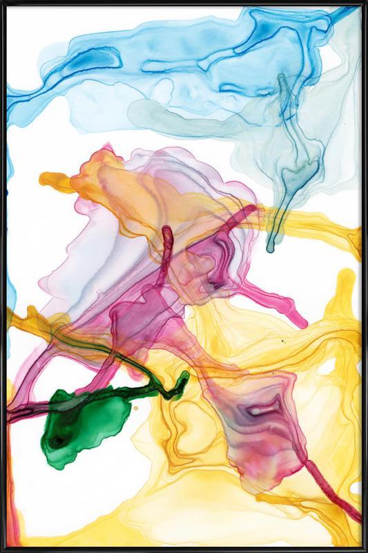 Spring 01 -Bild mit Kunststoffrahmen