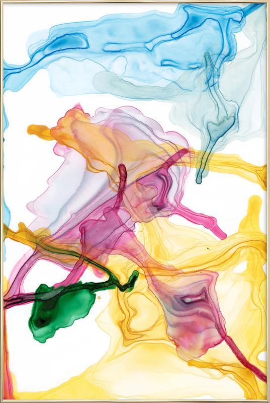 Spring 01 -Poster im Alurahmen
