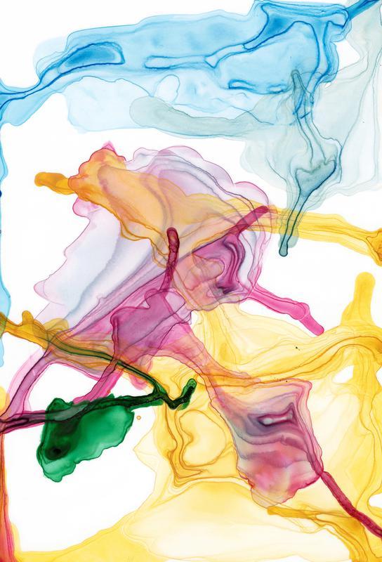 Spring 01 tableau en verre