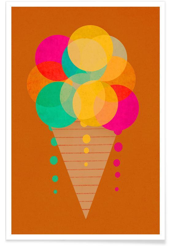 Neonicecream -Poster