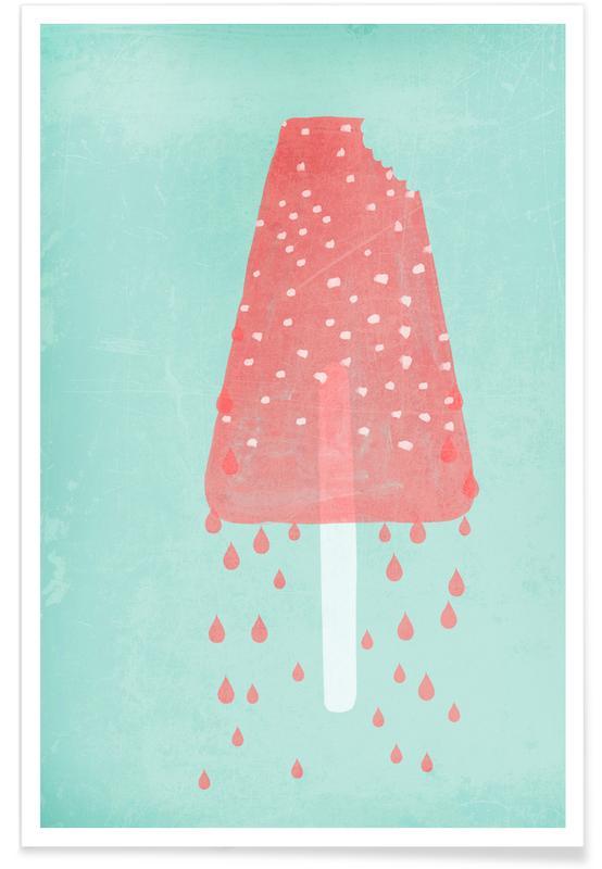 IJs, Ice Cream Rasperry poster