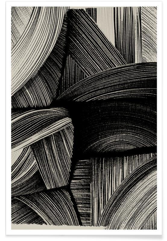Noir & blanc, Straw affiche