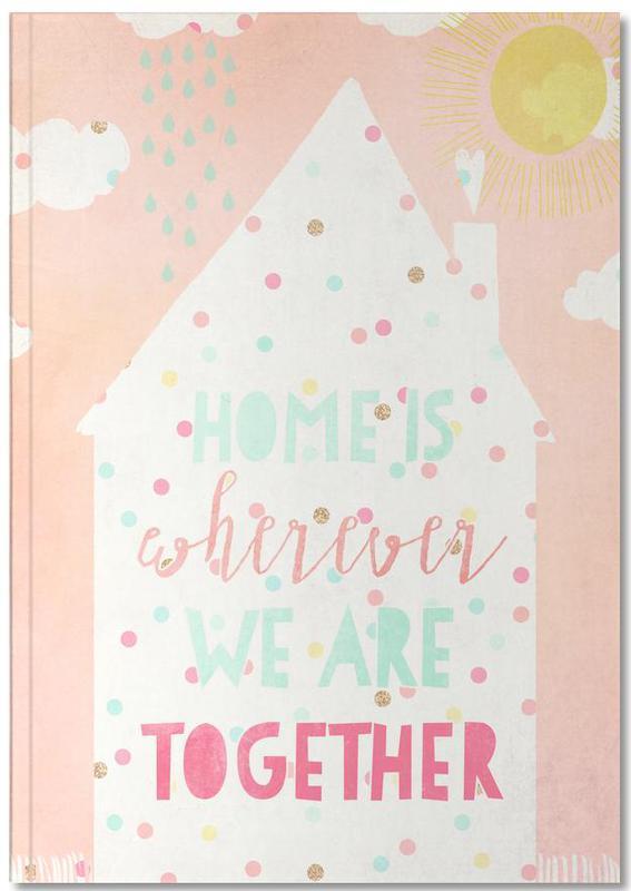 Crémaillères, Art pour enfants, Home Is Big Notebook