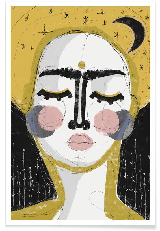 Portretten, Goddess of the Night poster