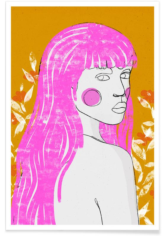 Portraits, Amazone affiche