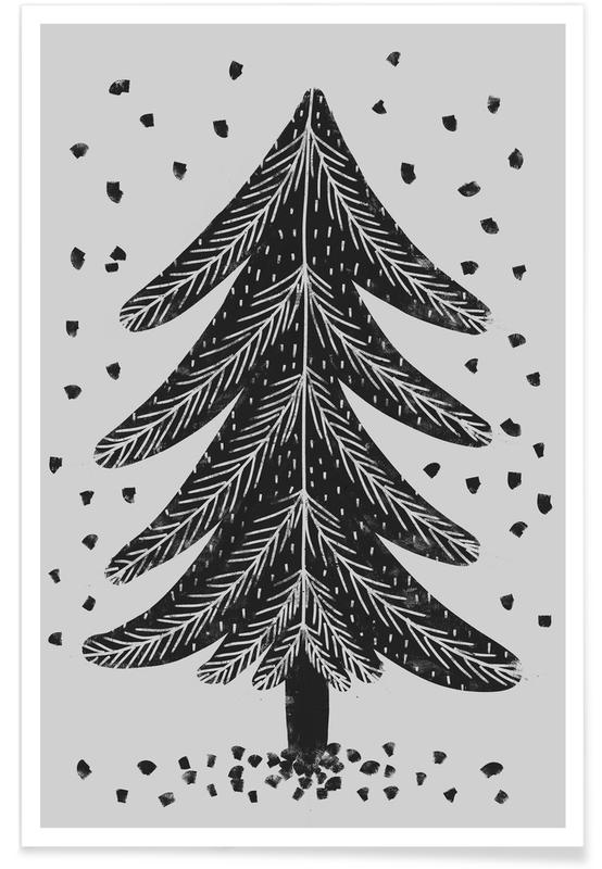 Noël, Arbres, Christmas Tree affiche