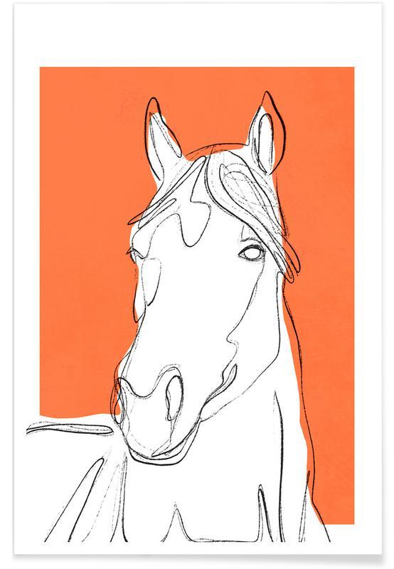 , Horse affiche