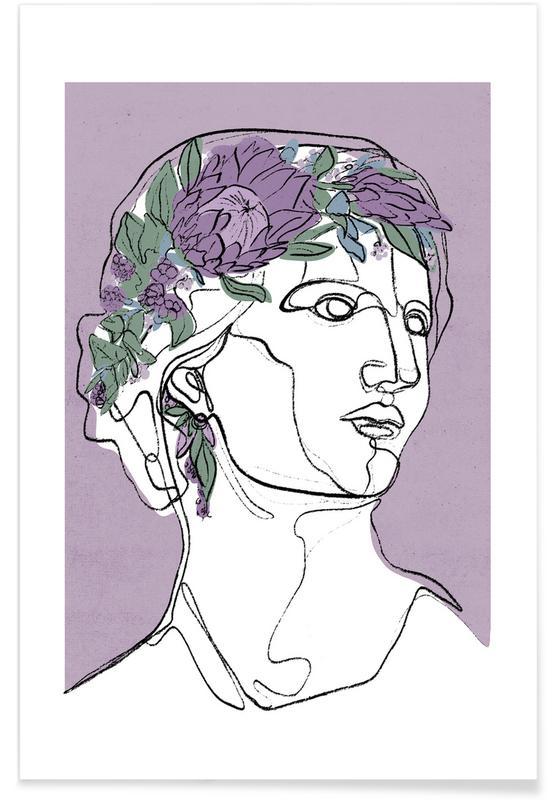 Portraits, Flora affiche