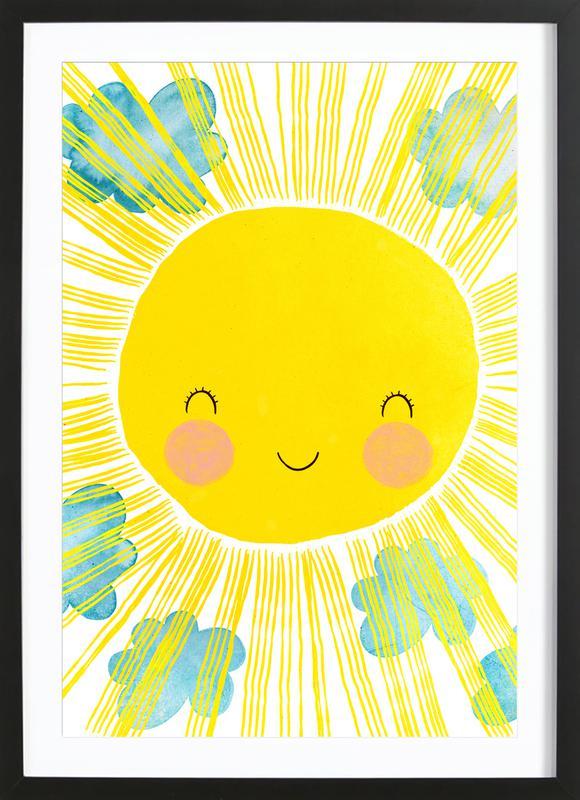 Matahari Poster i träram