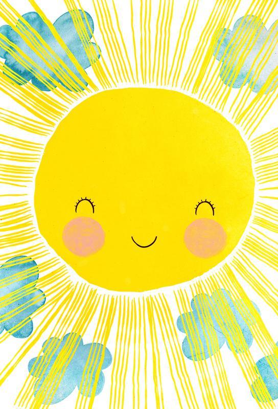 Matahari Aluminiumtavla
