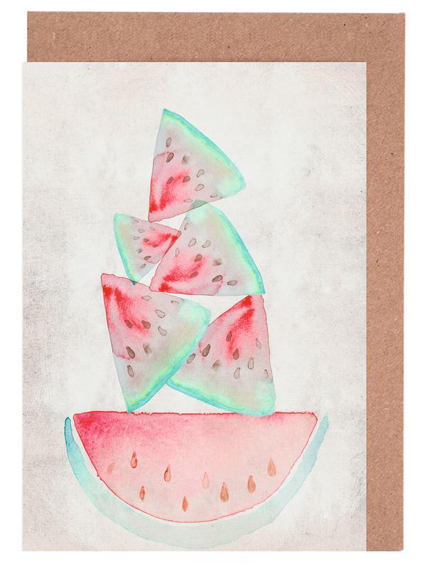 Melonen Greeting Card Set