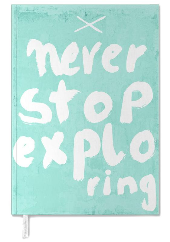 Never Stop Exploring Personal Planner