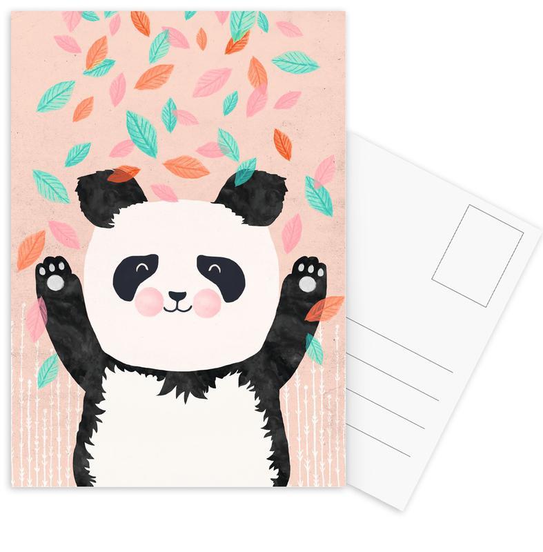 Art pour enfants, Pandas, Panda cartes postales