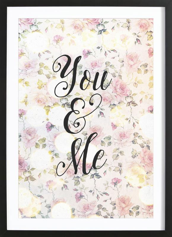 You and Me ingelijste print