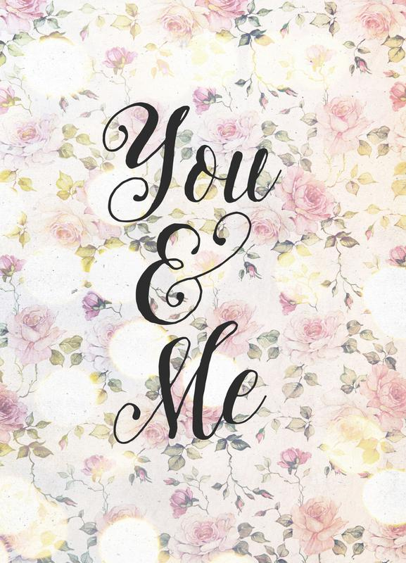 You and Me canvas doek