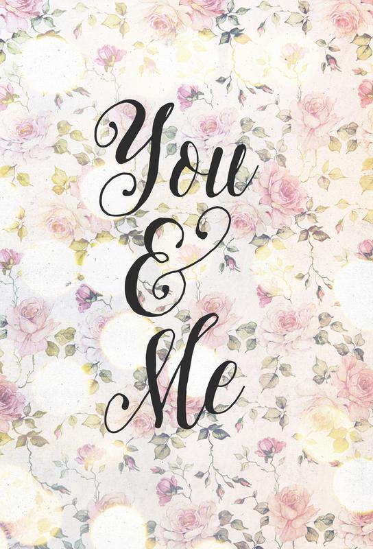 You and Me -Acrylglasbild