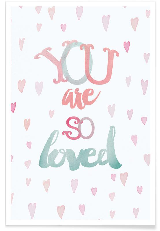 Citations d'amour, Naissances, You Are So Loved affiche