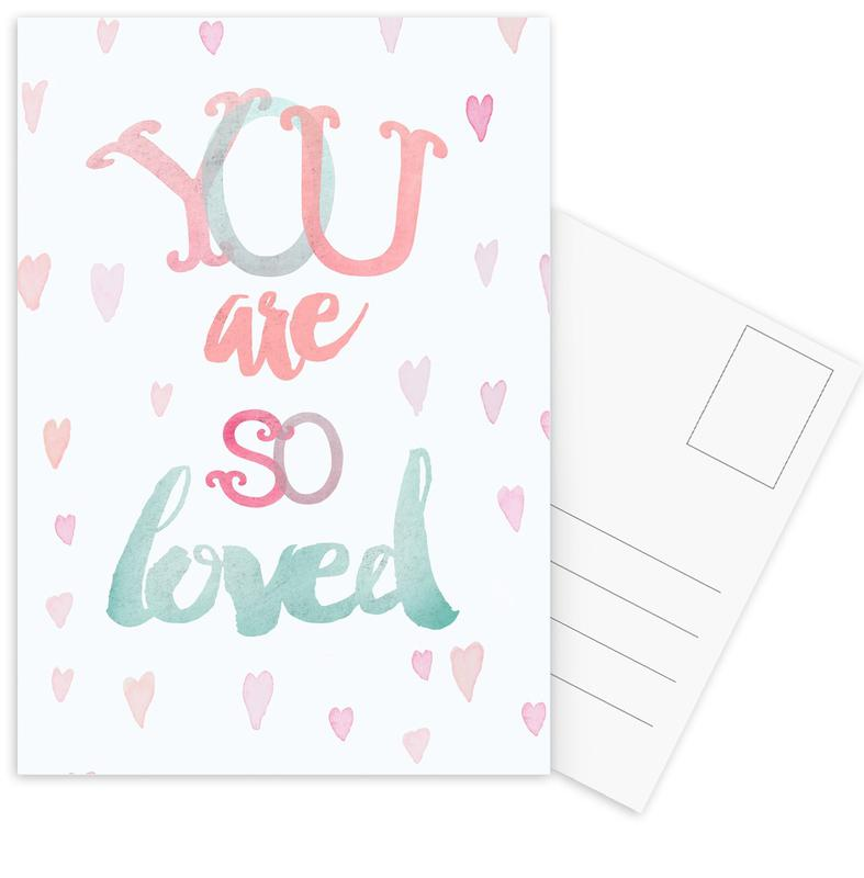 You Are So Loved Postcard Set