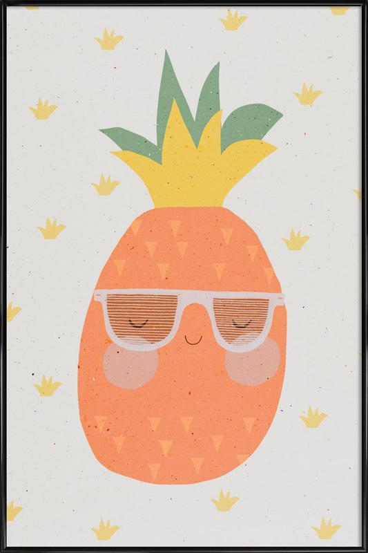 Ananas Framed Poster