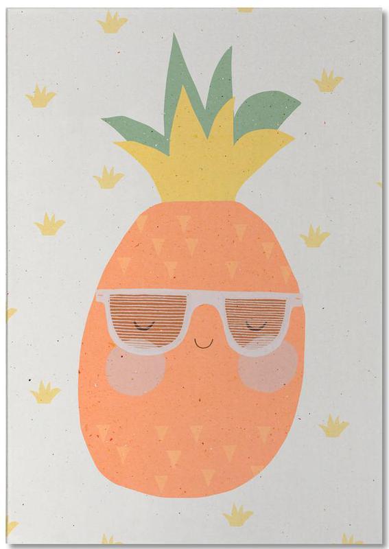 Ananas -Notizblock