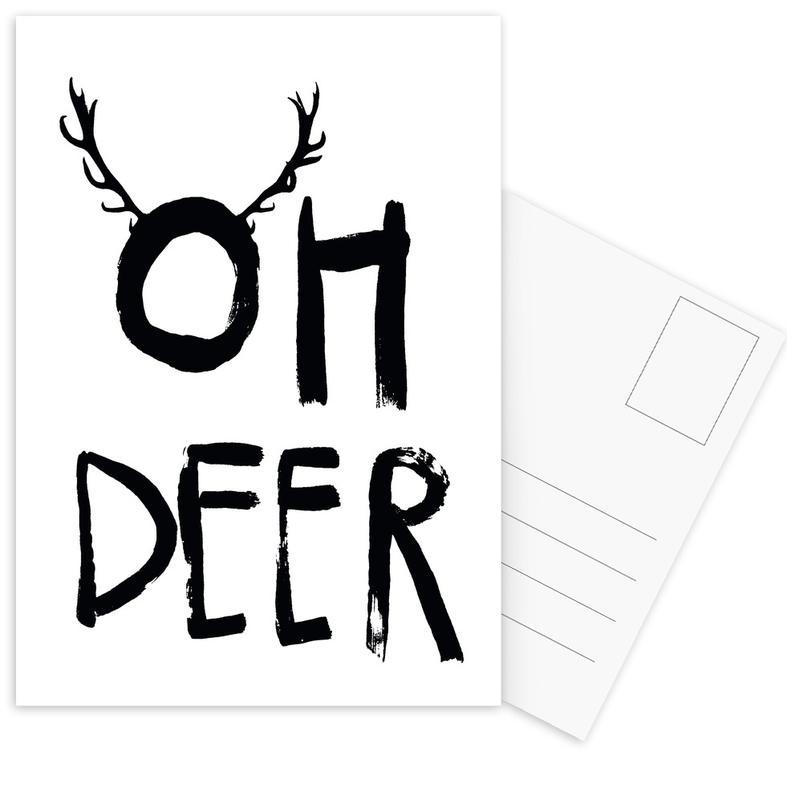 Oh Deer Postcard Set
