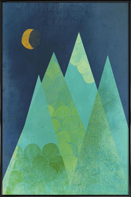 Norway ingelijste poster
