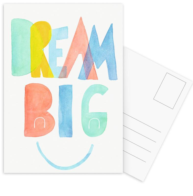 Dream Big Postcard Set