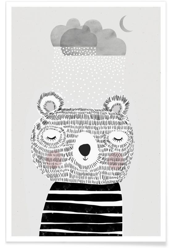 I Love Snow Poster