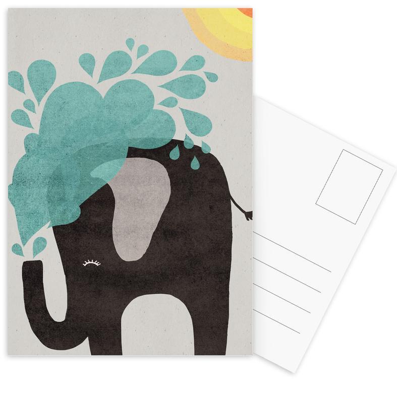 Funny Elephant 2 -Postkartenset