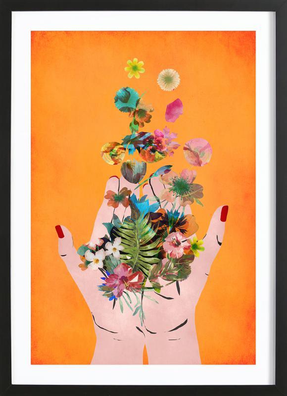 Frida's Hands ingelijste print