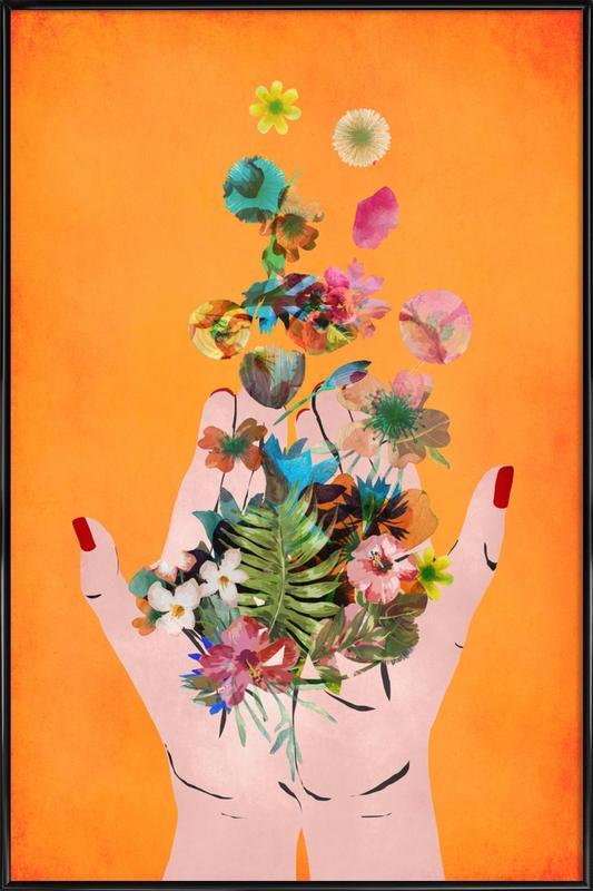 Frida's Hands Poster i standardram