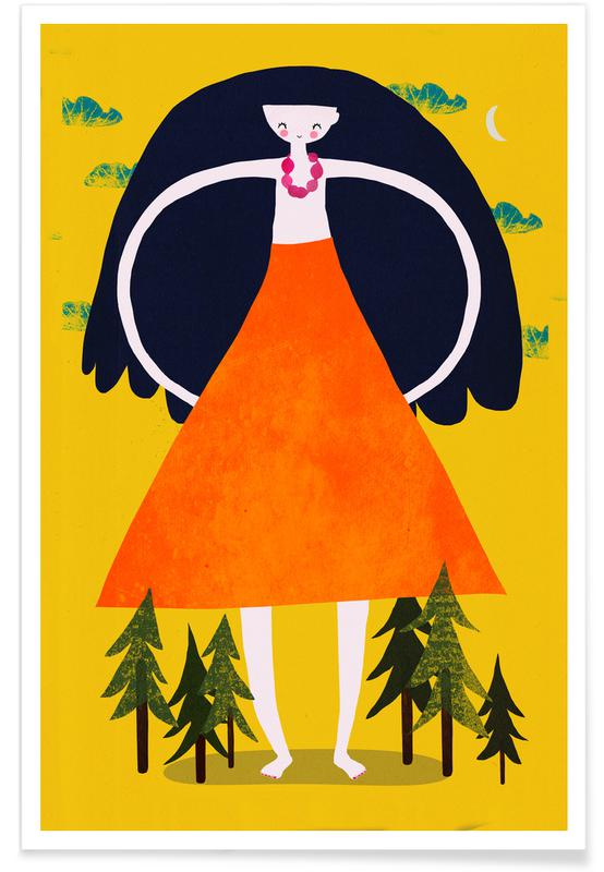 Giant Girl Poster