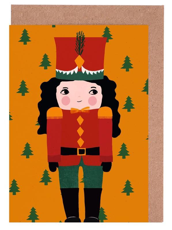 Nussknackermädchen Greeting Card Set