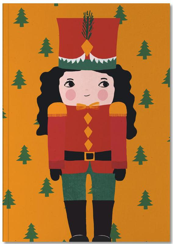 Kerst, Kunst voor kinderen, Nussknackermädchen Notebook