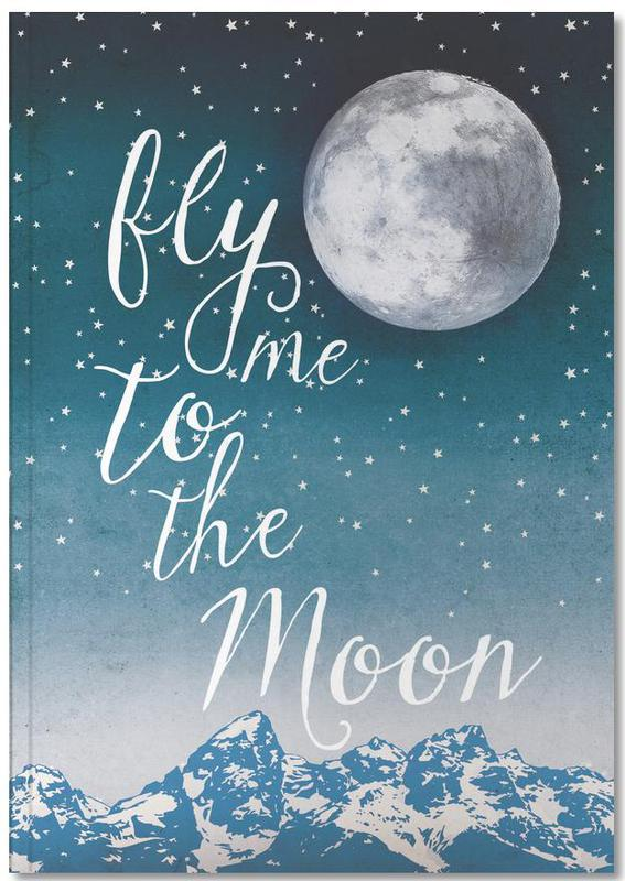 Fly Me to the Moon Notebook